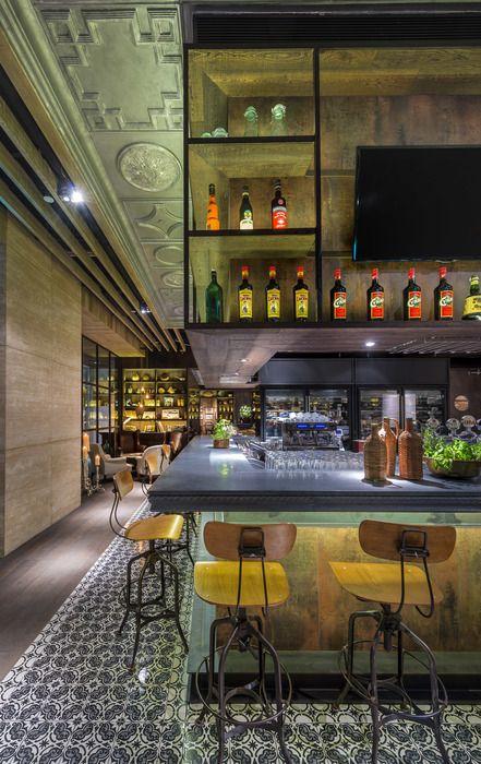 Singapore, Bar and Vloeren on Pinterest