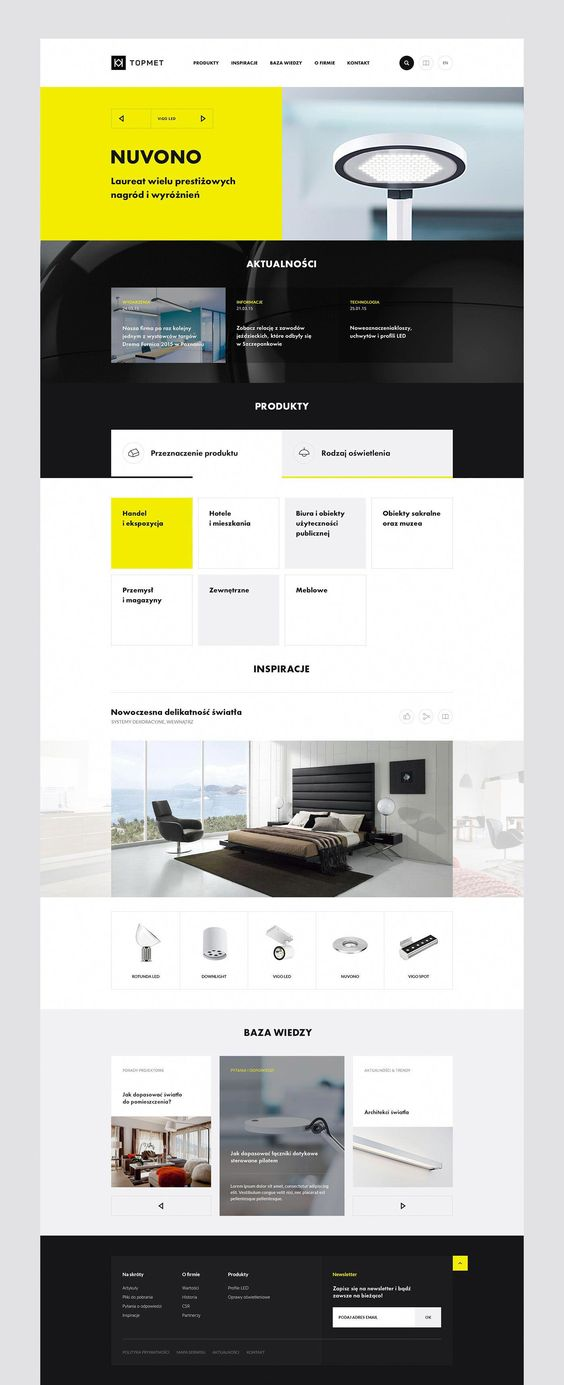 Branding and Web Design proposal for lighting company. All copyrights belong to their respective owners. Photos are used only for presentation. #webdesigncompany