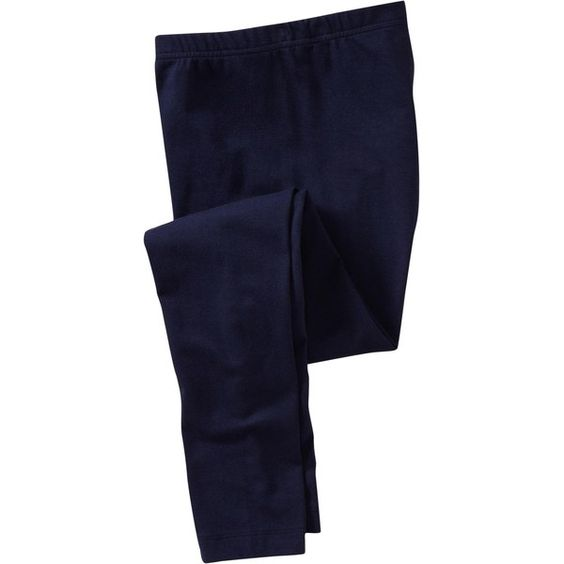 Women's Jersey Leggings   Old Navy ($15) ❤ liked on Polyvore featuring pants, leggings, jeans, bottoms, old navy leggings, jersey pants, blue jersey, legging pants and old navy trousers