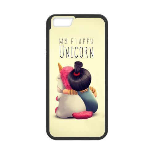 minion my unicorn it s so fluffy for iphone 4 4s 5 5s 5c 6. Black Bedroom Furniture Sets. Home Design Ideas