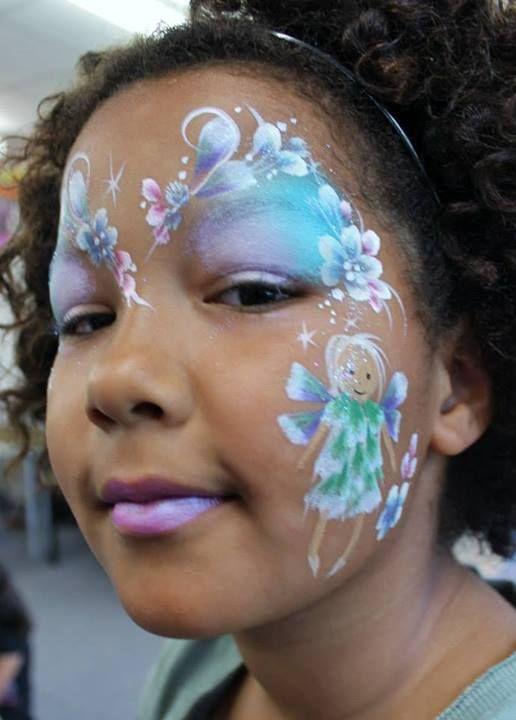 #facepaint fairy | Facepaint | Pinterest | Face painting ...