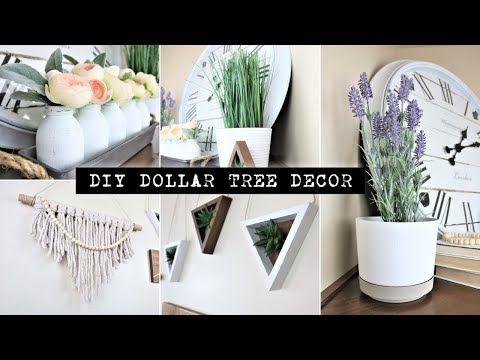 Dollar Tree Diy Home Decor Boho Decor Easy 2020 Youtube In 2020 Diy Dollar Tree Decor Diy Boho Decor Dollar Store Diy Decorations