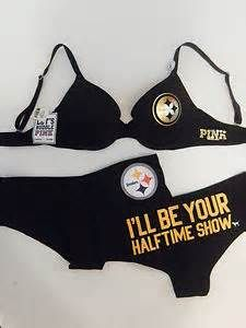 OMG!!!!  I HAVE GOT TO HAVE THIS!!!!   victoria secret steelers - bra and panties set
