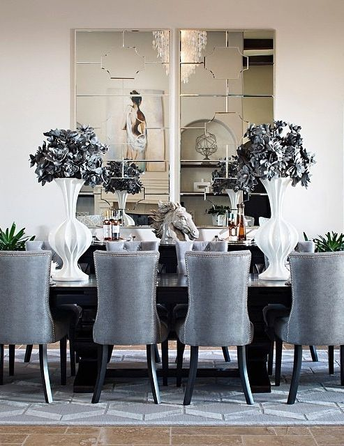 Chic Dining Room Ideas Are Something To Be On The Look Out For Dining Room Decor Ideas To Be I Elegant Dining Room Dining Room Design Dining Room Contemporary