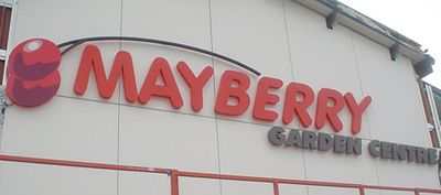 Mayberry Garden Center Signs Window Graphics Digital Wallpaper Done By The  Sus Sign Company