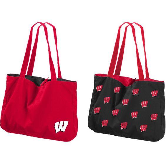 NCAA Wisconsin Badgers Reversible Tote