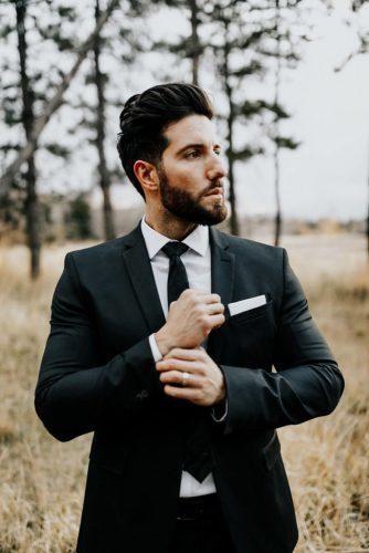 The Most Popular Groom Suits ★ groom suits black tie jacket blakehogge
