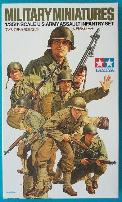 Tamiya U.S. Army Assault Infantry Set (1/35)