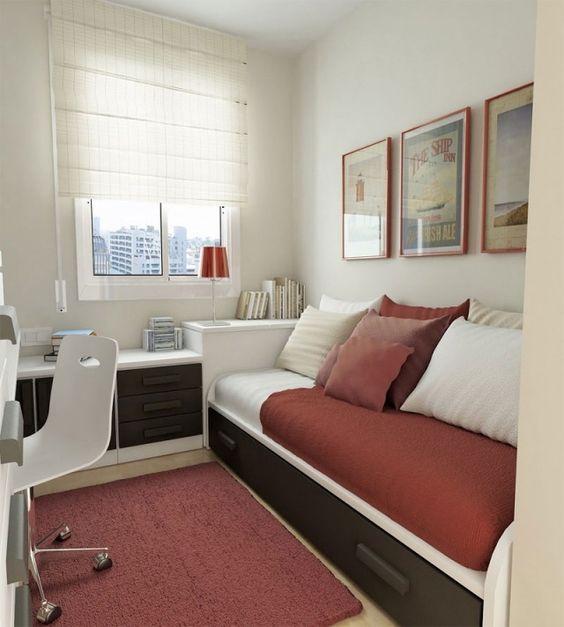 jugendzimmer ideen unisex farben einzelbett mit bettkasten