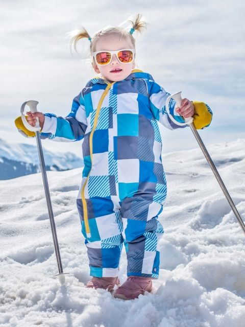 Baby All in One Snow Flurry Suit | Coats Warm and Rain coats