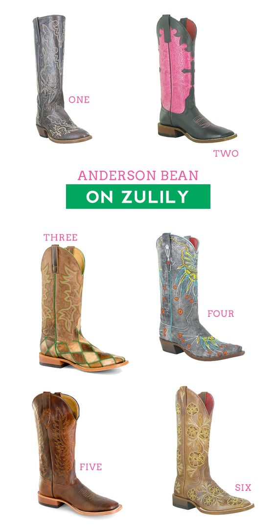 Anderson Bean on Zulily Today – Stock Show Boutique