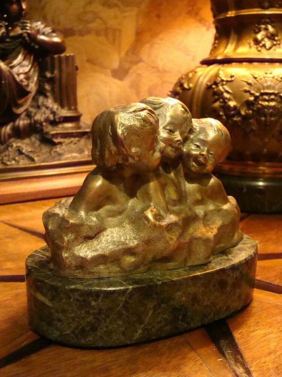 Bronzeskulptur Skulptur Pferd Bronzefigur Briefbeschwerer paperweight
