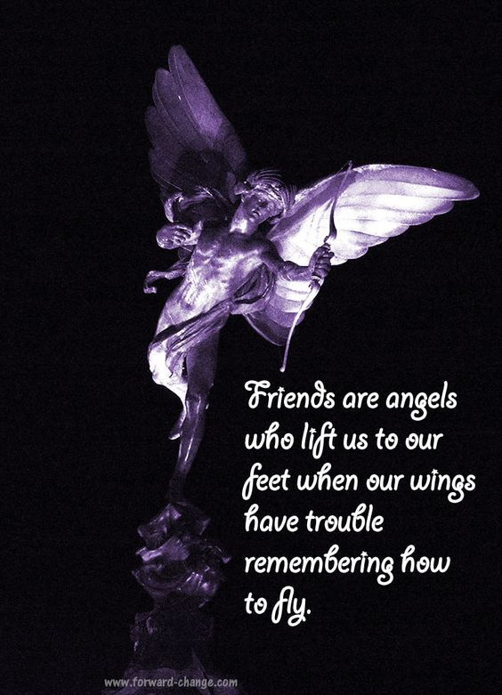 Be an #angel to your friends.: