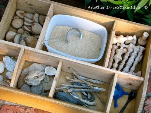 Irresistible Ideas for play based learning » Blog Archive » sorting box