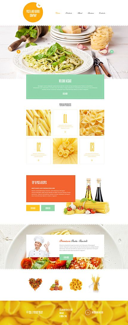 Erweitert den Radius für euren Essens-Betrieb mit dieser Essen und Getränke WordPress-Vorlage.