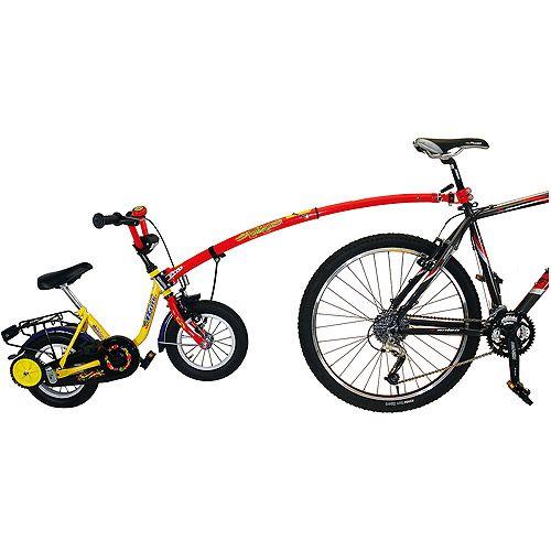 Trailgator Tandem Bike Bar Tandem Bicycle Bar Attaches Adult Bike