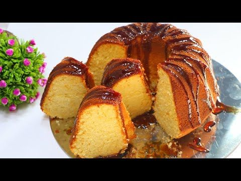 كيك يومي هش اسفنجي ناجح من اول مرة والطعم لذيذ جدا كيكة الفانيليا المرتفعة الشهية مع نسرين Youtube Arabic Sweets Recipes Sweets Recipes Arabic Dessert