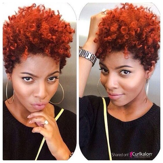 Crochet Hairstyles With Color : twa hairstyles with color natural tapered hairstyles tapered natural ...