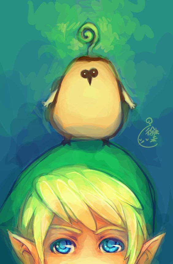 the legend of zelda skyward sword cute #loz #kikwi_pee