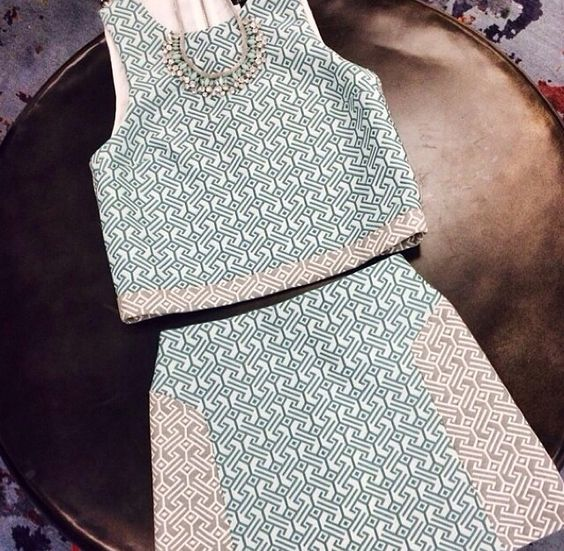 Topshop Colorblock Jacquard Shell {Nordstrom}   Favorite purchase from the anniversary sale!  photo cred: Nordstrom instagram