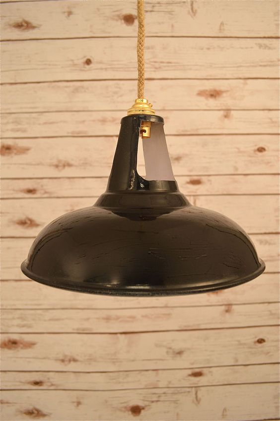 Fantastic retro style black vented ceiling light shade factory black vented ceiling light factory lamp shade handmade from steel and supplied with a brass mozeypictures Gallery