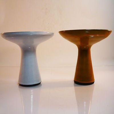 Studio Keramik Vase / Kerzenhalter • Böttger Keramik Werkstatt • 2 Stück
