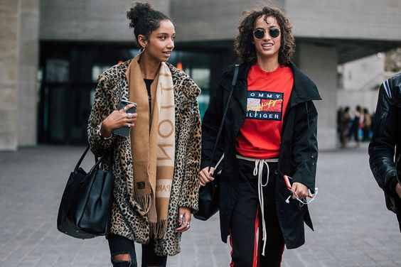 On The Street: Aiden Curtiss & Alana Arrington LFW A/W 17 – Of The Minute: