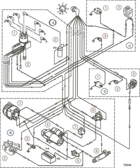 Mercruiser 140 Engine Wiring Diagram And Mercruiser Electrical Manualmercruiser Engine Manual Electrical Diagram Diagram Volvo