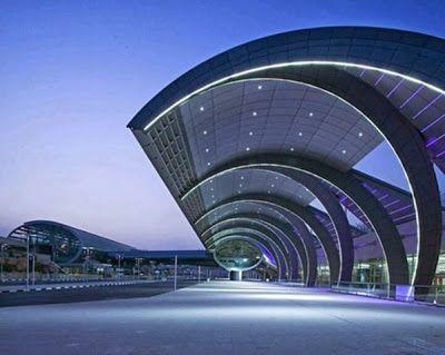 : Dubai World Central International Airport, Dubai, UAE #architecture ☮k☮