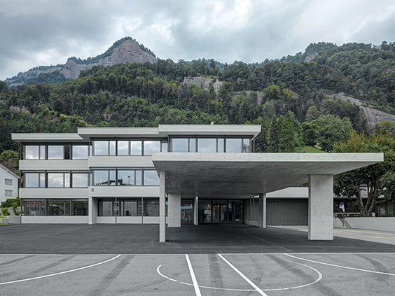 Umbau und Sanierung Primarschule Vitznau / phalt Architekten AG