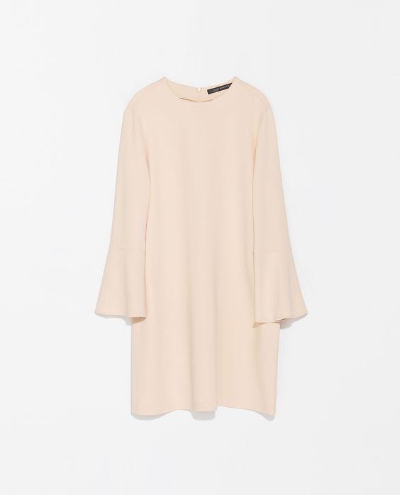 ZARA - WOMAN - DRESS WITH BELL SLEEVES