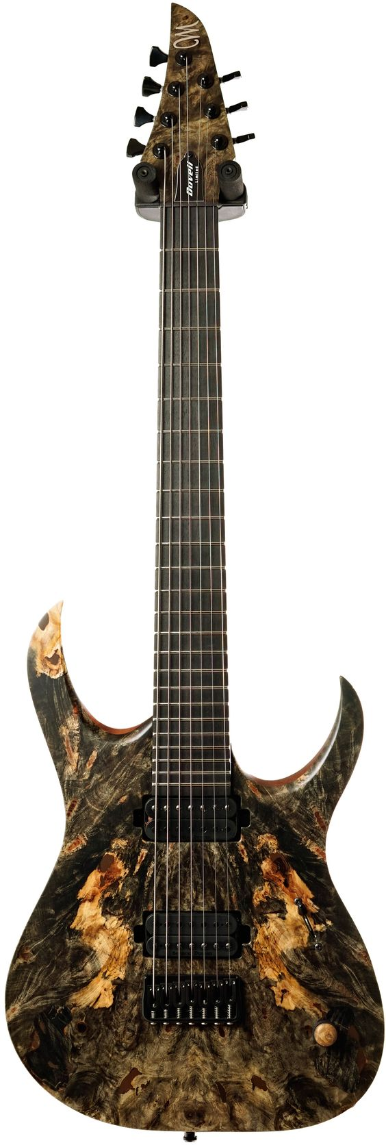 mayones duvell elite 7 buckeye burl master builder collection 2016, Fish Finder