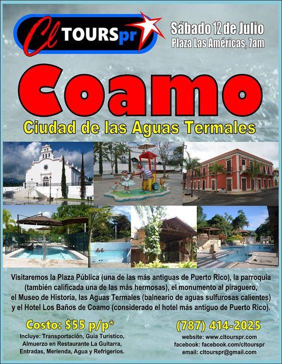 Coamo ciudad de las aguas termales sondeaquipr coamo for Actividades jardin botanico caguas