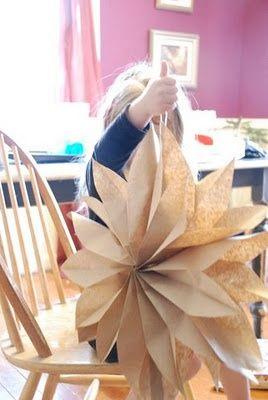 DIY paper flower decoration!