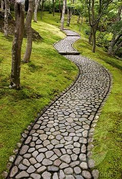Love this rock path....the best
