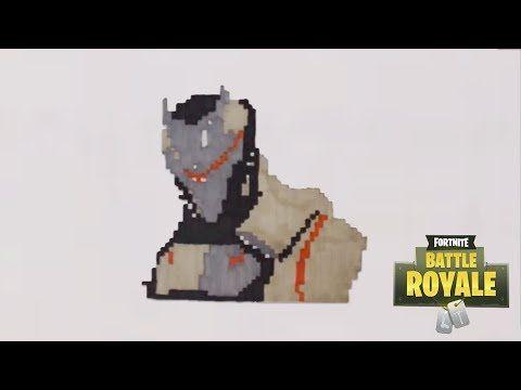 Dessin Fortnite Youtube Dessin Pixel Art Et Art