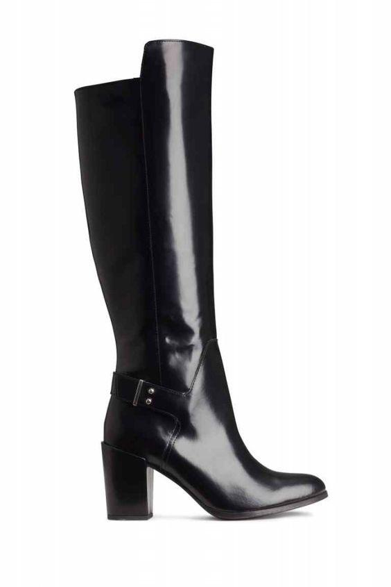 H&M long black boots