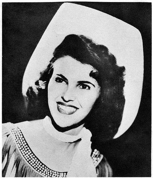 Wanda Jackson...Love to hear her sing Thunder On The Mountain
