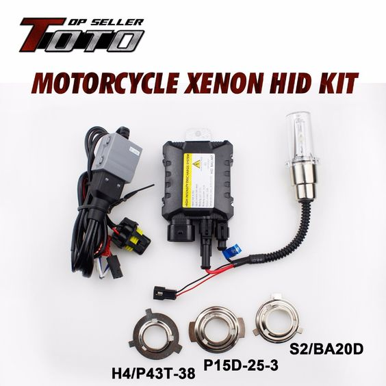 Super Bright Moto Hid Kit 4300k 12000k Motorcycle Xenon Headlight Hid Lights Ballast For Suzuki Boulevard 20 Motorcycle Headlight Car Lights Xenon Headlights
