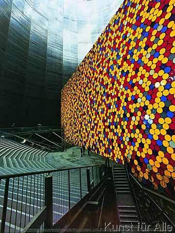 Christo und Jeanne-Claude - The Wall Nr. 1 (Oberhausen)