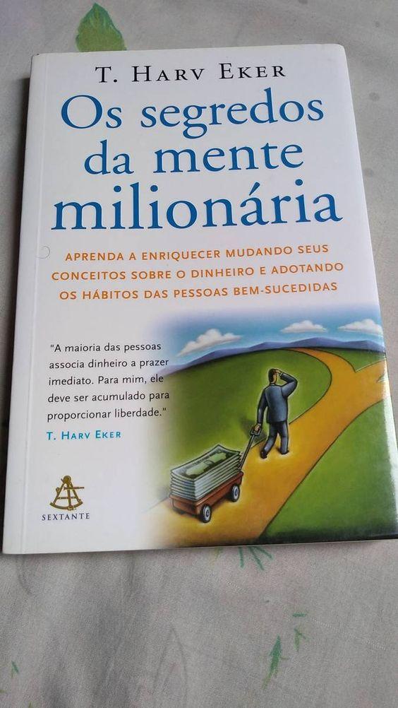 Os Segredos Da Mente Milionaria T Harv Eker Seminovo Livro