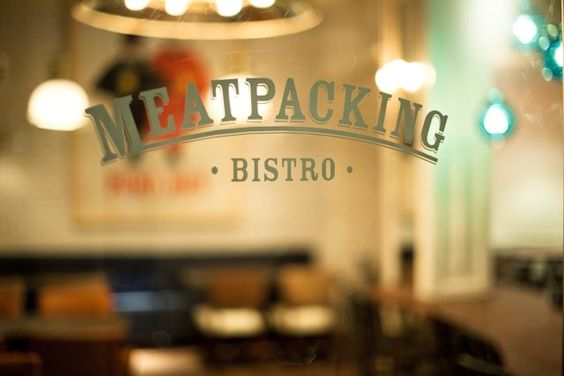 Bistros cafe restaurant and barcelona on pinterest - Meatpacking bistro barcelona ...