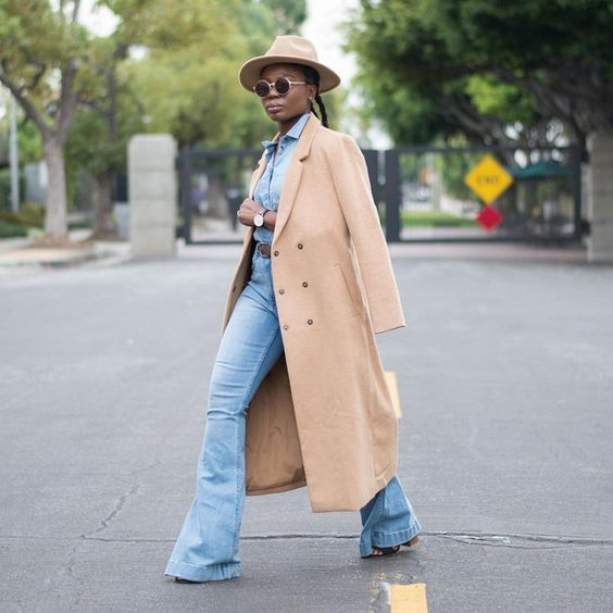 Pin for Later: The Blogger-Approved Hack You Should Try If You Hate All Your Clothes With a Denim Shirt and a Wide-Brim Hat