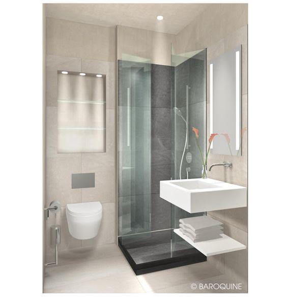 2 20 qm badezimmer wohndesign. Black Bedroom Furniture Sets. Home Design Ideas