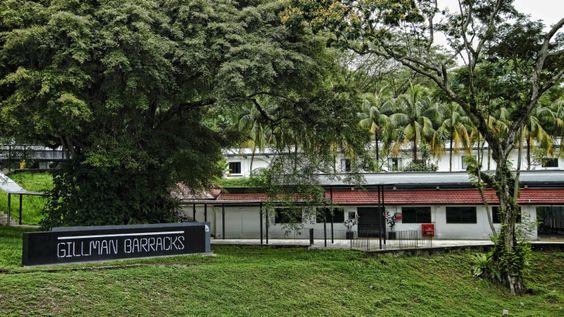 Doanh trại quân đội Anh cũ Gillman Barracks ở Singapore