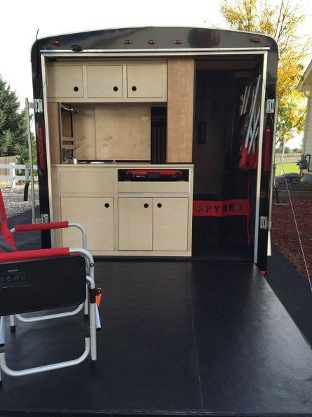 Innovative Utility Trailers Such As Those Used For Hauling Gear And Freight, Make Handy Starts To A Camper Trailer Convert These Enclosed Utility Trailers Into Small And Selfcontained Campers The Design And Floor Plan You Choose Is Strictly Up To