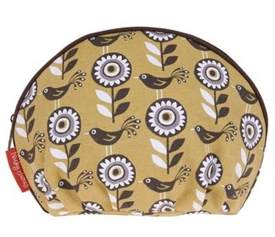 Flamingo Gifts | Bloom Mustard Wash Bag