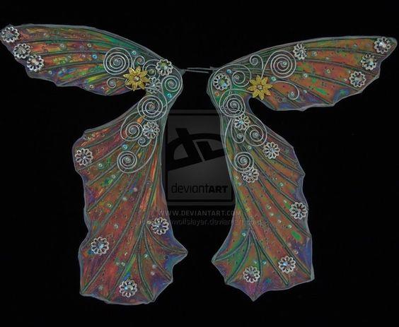 wip wings BLING!!! by Ravenwolfslayer.deviantart.com on @deviantART