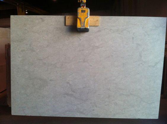 Honed Smoke Grey Limestone Slab 3/4