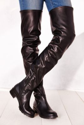 Jeffrey Campbell Besos Stretch Leather Boot